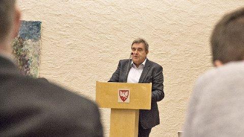 Time-ordfører Reinert Kverneland er Høyres ordførerkandidat foran valget neste høst, men Kverneland fikk ikke unison støtte under nominasjonsmøtet.