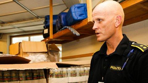 Politioverbetjent Bjørn Søyland ved Jæren lensmannskontor advarer på det sterkeste mot overdoser på grunn av et svært konsentrert narkotisk pulver. (Arkivfoto)