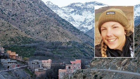 Maren Ueland (28) vart drepen i Imlildalen i Marokko.