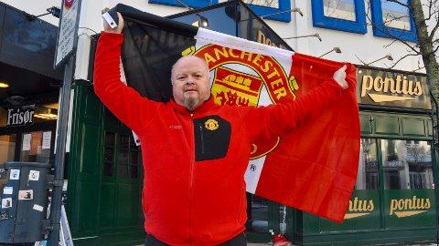 Ole Gunnar Solskjær har så langt levert varene som Manchester United-manager. Det har gitt økt interesse rundt fotballklubben her i Sandnes ifølge nestleder i Red Army Sandnes og Jæren, Reidar Øksnevad.