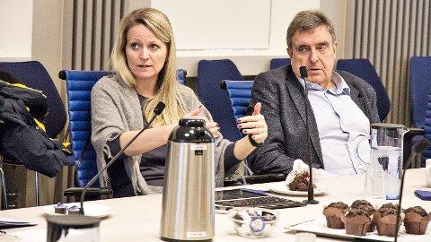 Ane Mari Braut Nese og Reinert Kverneland meiner det er viktig å få fram at det nye bomforslaget medfører alternative vegar internt i Klepp og Time, utan bomstasjonar, for dei aller fleste innbyggarane.