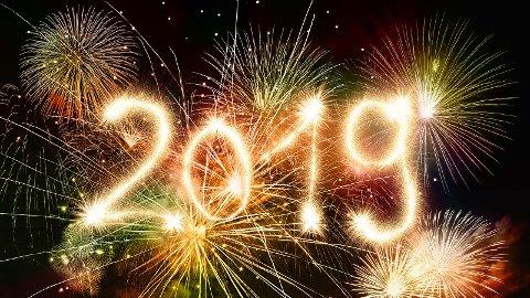 Meteorologen varsler fint innevær når 2018 blir til 2019.