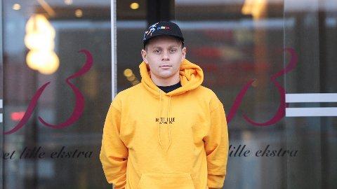 Petter Havsgård Martinsen gleder seg til å spille for Bryne, og til å få seg et sted å bo. Enn så lenge er han innkvartert på hotell.