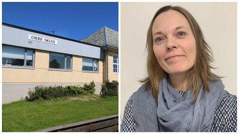 Stina Karen Kjellås blir ny rektor på Orre skule fra 1. juni.