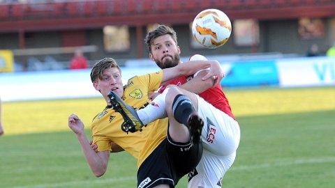 Rogvi Baldvinsson var nok en gang solid i den defensive midtbanerollen.