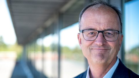 Konsernsjef Eimund Nygaard i Lyse er fornøyd med fjorårets resultat.