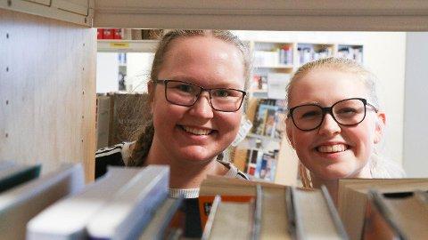 Katrine Jåtun og Signe-Andrea Knudsen (begge 17) har dysleksi og har begge planar om å ta høgare utdanning.