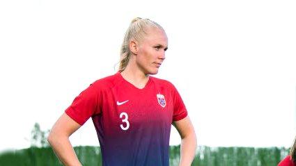 Maria Thorisdottir skal som ventet spille for Norge i VM i sommer.