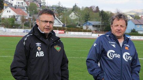 Brødrene Alf Ingve Berntsen og Bjarne Berntsen møtes for første gang i kamp når Frøyland får besøk av Viking i cupen.