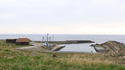 TIL SALS: Tysdag skal Hå formannskap bestemma om kommunen skal kjøpa Madland hamn.