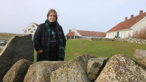 Ingrid Torvund har aner fra Hå. Lørdag er hun klar til å vise den siste av filmene i trilogien sin for publikum på Hå gamle prestegard.