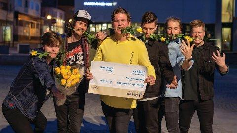 I fjor var det bandet Vicereine som vann «Uhøyrt»-konkurransen.