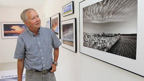 Fotgraf Olav Garborg (77) stiller ut jærske landskap i Galleri@Sama på Brusand.