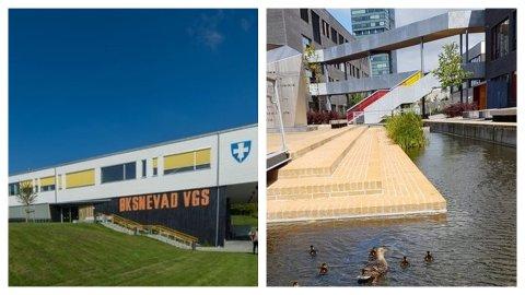 SØKERTALL: Torsdag 4. juli ble skoleplassene ved de videregående skolene på Øksnevad og Bryne, tildelt i første runde.