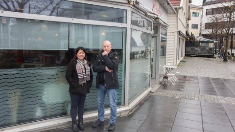 SLUTT: Torget Restaurant kjem ikkje til å opna dørene att. Det er ikkje klart kva som skjer med lokalet.