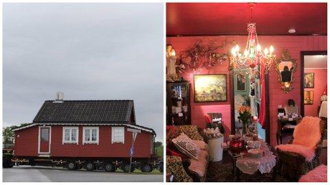 I juni 2017 ble dette jærhuset fraktet til Klepp. Tre år senere har Marianne Stangeland satt sitt eget preg på det hjemme i sin egen hage.