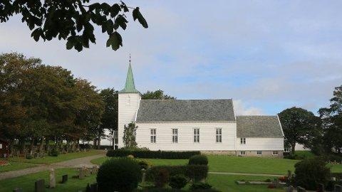 TYVERI: Natt til tirsdag ble det meldt om tyveri ikke langt ifra gravlunden ved Klepp kirke.