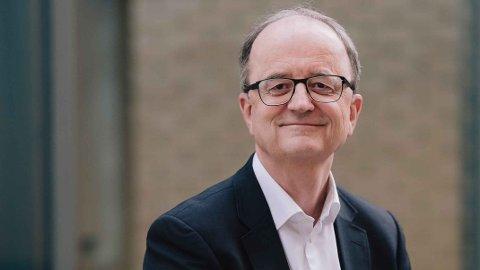 OVERSKUDD: Lyse satt igjen med et overskudd etter skatt på nær en milliard kroner i 2019, kan konsernsjef Eimund Nygaard konstatere. 600 millioner går som utbytte til de 14 eierkommunene.