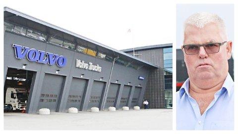 OPPFORDRING: Trucknor Rogaland-sjefen Terje Stangeland har en klar oppfordring til myndighetene: – Sett i gang mange flere offentlige byggeprosjekter!
