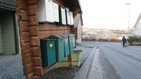 Det vil ikke lengre komme brevpost i postkassen like ofte som før. Dette illustrasjonsfotoet er fra Vardebakken på Kleppe.