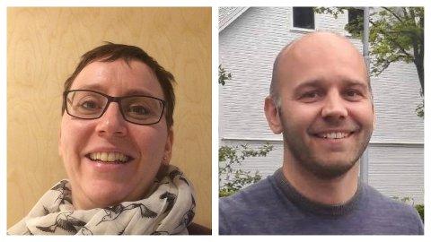 VIL HA SAMARBEID: - Det beste er at Klepp, Time og Hå samarbeider om legevakten, mener Anne Kjersti Haveland, hovedtillitsvalgt for Norsk Sykepleierforbund, og Anders G. Madsen, hovedtillitsvalgt for legene i Hå.