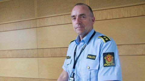OVERGREP: Fredag blir det arbeidd med vitneavhøyr og gjennomgang av materiale som er sikra i saka, opplyser Bjørn Kåre Dahl, leiar for personseksjonen i Sør-Vest politidistrikt.