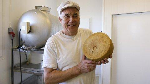 20-ÅRS JUBILEUM: Voll Ysteri i Klepp vart etablert av Hans Voll som eit enkeltmannsforetak i 2001, med forprosjekt som førte til produksjon av ost frå 2002.