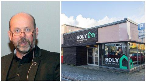 GJENOPPSTÅR: Bjørn Rygg overtar konkursboet etter Bo-ly AS. Han tar med alle ansatte i det nydanna selskapet Boly Bygg AS, og flytter til Forus.