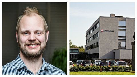 DEBATT: Mimir Kristjansson mener at Time kommune har truet ytringsfriheten etter at biblioteksjefen ble kalt inn på teppet i forbindelse med en Kalberg-uttalelse.