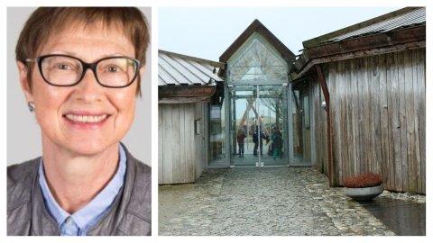 GÅR AV FOR ALDERSGRENSA: Målfrid Snørteland begynte i jobben for 35 år sidan og er den hittil einaste direktøren ved Jærmuseet. Til våren rundar ho 70 år og må gå av for aldersgrensa.