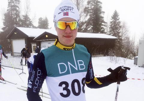 God innsats: Kasper Kraglund Inderhaug fra Botne SK tok sølv i gutter 15 år.alle foto: åshild jahre