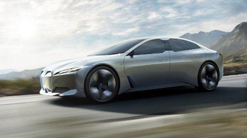 ELBIL: BMWs i Vision Dynamics viser hvordan BMW har tenkt å angripe elbilmarkedet. Dette blir en uhyre spennende bil de neste årene.
