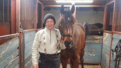 NY SEIER: Bengt Solberg kan glede seg over at Eldorado Gracieux har tatt sin tredje seier på rad etter årsdebuten 30. november. Arkivfoto: Emira Holmøy