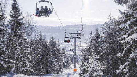 Torsdag i vinterferien er det gratis tur til skibakken i Drammen.