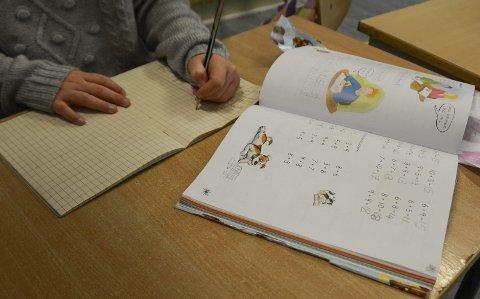 Grunnleggende: Det er de grunnleggende ferdighetene i regning, lesing og engelsk som måles i de nasjonale prøvene som tas av elevene på 5., 8. og 9. trinn hvert år. Illustrasjonsfoto