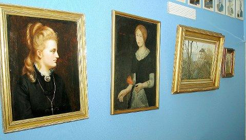 KUNSTSKATT: Dette er eksempler på kunst som Kragerø kommune eier. (Arkivfoto)