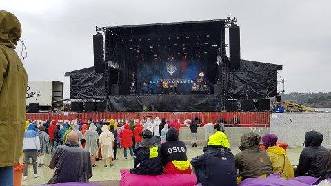 DÅRLIG VÆR: Kragerø festivaldrift AS mener at dårlig vær bidro til sviktende billettsalg, som beskrives som hovedårsaken til problemene.