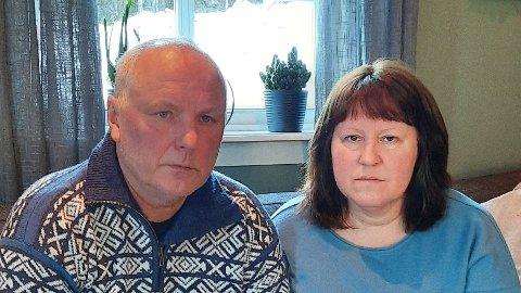 Svein Arild Josvanger og Gunhild Josvanger ble lurt av bilkjøper.