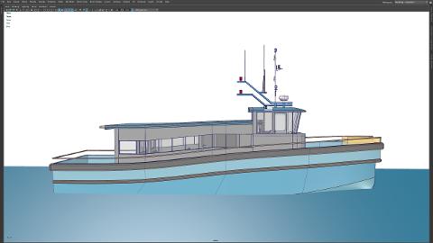 PASSASJERBÅT: Dette kan bli den nye passasjerbåten til Kragerø fjordbåtselskap.
