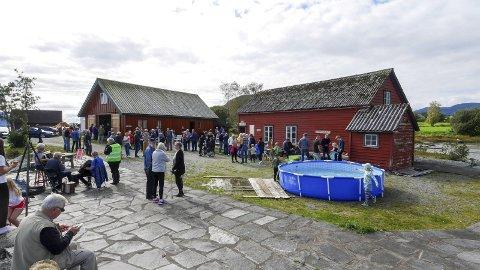 Kulturnemnda i Ølve bygdelag lova fint vêr, og lovnaden vart halden.