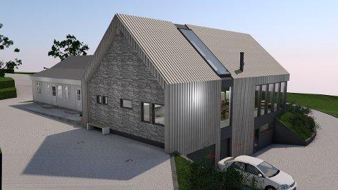 Dersom ikkje fylkesmannen stikk kjeppar i hjula, kan dette bli Døssland advokatfirma sitt nye kontorbygg.