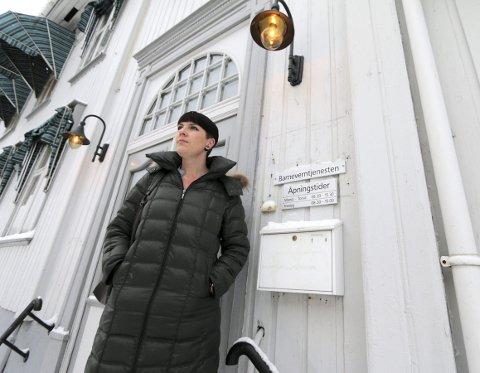NY RAPPORT: Tone Risvoll Kvernes, barnevernleder i Kongsberg har levert årsrapport til politikerne i kommunestyret.