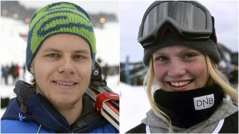 STIPEND: Ola Einbu Baugerød og Tina Steffensen ble de første som fikk tildelt stipend av KIF. De fikk henholdsvis 15.000 og 25.000 kroner til videre satsing.