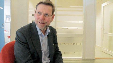 SLUTTER: Direktør Nils Fr. Wisløff gir seg neste år.