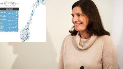 Direktør Libe Rieber-Mohn i Integrerings- og mangfoldsdirektoratet IMDi. Foto: Heiko Junge / NTB scanpix