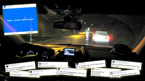 MYE BRUKT: Kjøregrupper på Facebook er mye brukt når folk trenger transport hjem fra byen eller fest.