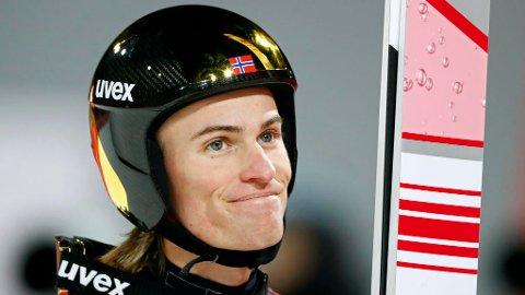 VIL HA FLERE TILSKUERE: Daniel-André Tande vil ha flere norske tilskuere i Holmenkollen.  Dominic Ebenbichler Reuters