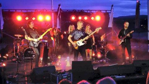 PINK FLOYD-MUSIKK: High Hopes leverte en uforglemmelig konsert på golfbanen Sankthansaften.