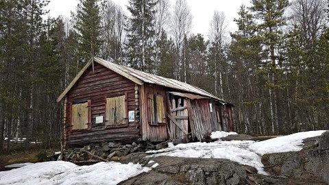 Fauleplass: En gammel boplass, som ligger omtrent halvveis.foto: ingunn Våer
