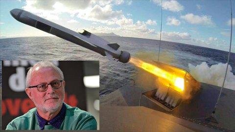 Arne Johan Isaksen i Miljøpartiet de grønne mener det er helt feil prioritering av Norge å bruke høyteknologisk arbeidskraft til å produsere våpen.